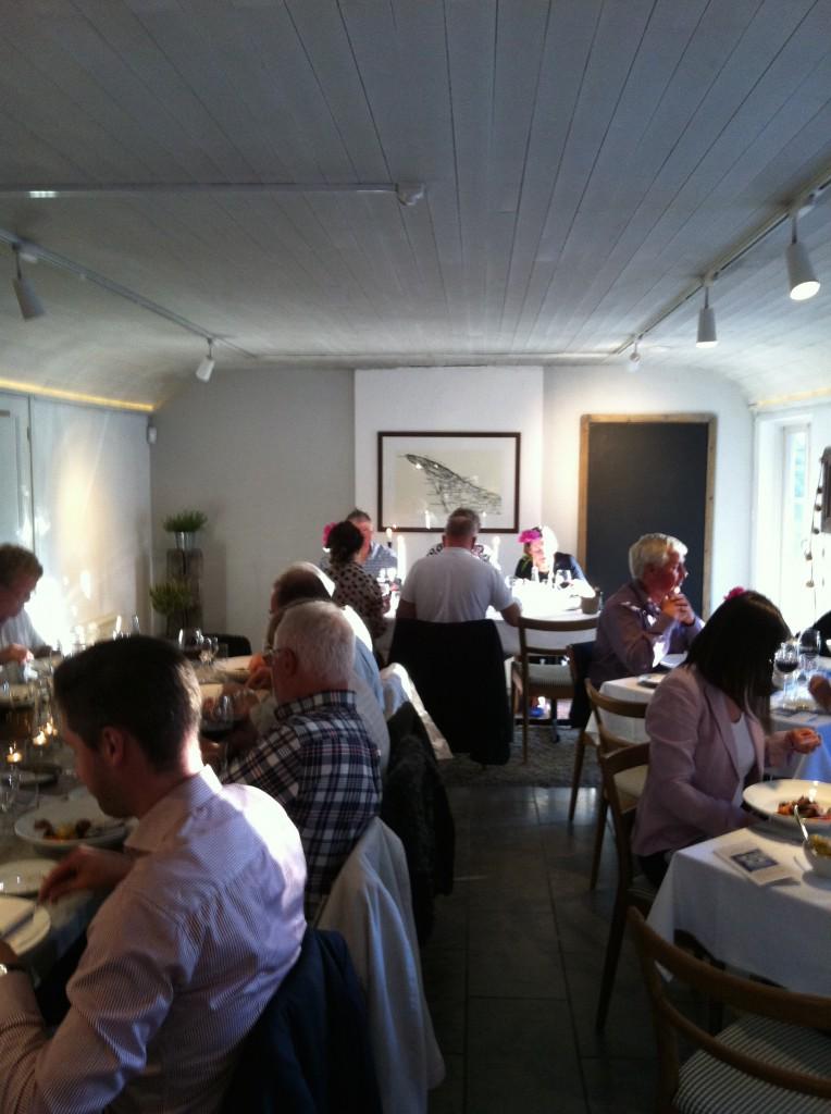 Restaurangen Rut på Skäret bjöd på god mat!